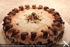 Bailey's - Torte mit Mascarpone, ein leckeres Rezept aus der Kategorie Torten. Bewertungen: 48. Durchschnitt: Ø 4,4.