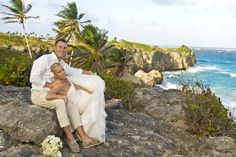 Relaxed Barbadian Cliff Top Wedding Photography