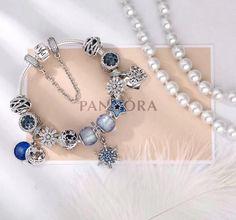 Authentic Pandora bracelet with 12 pcs charms 100% pure 925 sterling silver charms: pure 925 sterling silver ,murano glass *With fine PANDORA jewelry box acc #pandorajewelry
