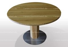 Table, Furniture, Home Decor, Round Tables, Wood Slab, Types Of Wood, Moving Out, Stainless Steel, Decoration Home