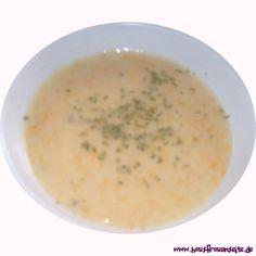 Grießsuppe mit Möhren unsere Grießsuppe mit Möhren ist eine schnelle, improvisierte Suppe vegetarisch vegan laktosefrei Cheeseburger Chowder, Soup, Delicious Vegan Recipes, Cooking, Stew, Carrots, Eat Healthy, Food And Drinks, Soups