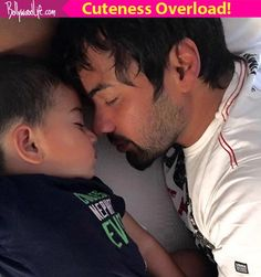 Kumkum Bhagyas Shabbir Ahluwalia shares the first snap of his newborn son view pic!