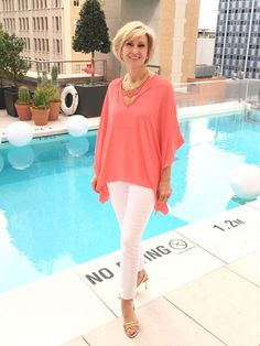Outfit ideas for summer pool parties #fashionover40 #summerfashion Pool Party Outfits, Party Outfits For Women, Party Dress, Over 50 Womens Fashion, Fashion Over 40, Vacation Outfits, Vacation Fashion, Winter Outfits, Summer Outfits