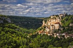 Rocamadour France  by Xavier D'Abrigeon