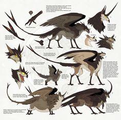 REF Thornwhip Griffins by Novere.deviantart.com on @deviantART