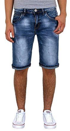 Cars Jeans Handle Shorts Herren Hellblau Bekleidung Hosen