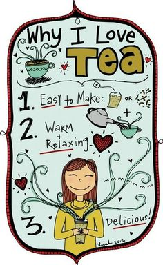 Why I Love Tea www.adagio.com
