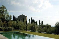 Located on a hilltop overlooking the Maremma valley in Italy, Castello di Vicarello is a 12th-century castle restored by owners Carlo and Aurora Baccheschi. The property is run as a private mini-resort.