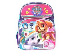 New Nickelodeon Girls Paw Patrol 16 Inches ** More info could be found at the image url. Best Kids Backpacks, Nickelodeon Girls, Paw Patrol, Vacation Ideas, Travel Style, Image Link, Amazon, Children, Awesome