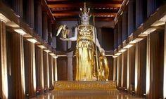 Χρυσελεφάντινο άγαλμα της Αθηνάς - Δείτε το Video από το Μουσείο του Παρθενώνα του Νάσβιλ των Η.Π.Α | Εlhal