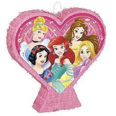 Pinata Princesses Disney en forme de coeur - Castello | Jeux et Jouets