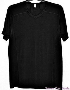 Lululemon Athletica Shirt Mens Fitness Workout Running Short Sleeve Black L…