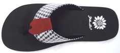 Yellowbox Houndstooth Flip Flop $29.99
