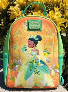 Sneak Peek!! Go Down the Bayou With This NEW Disney Princess and the Frog Loungefly! Disney Food, Walt Disney, Disney Stuff, Frog Ornaments, New Disney Princesses, Disney Dining Plan, Disney Vacations, Disneyland, Fun