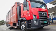 Caminhão 100% movido a gás natural desenvolvido pela Volkswagen para Ambev chega às ruas | VeloxTV