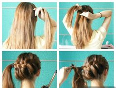 This could be cute! especially once the ends are curled!
