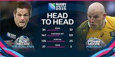 Nova Zelanda vs Austràlia #RWCFinal #NZL vs #AUS #TeamAllBlacks vs #StrongerAsOne #Wallabies