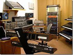 How to design modern Home music studio.