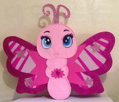 piñata de mariposa. por aldimyshop en Etsy