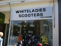 WhiteLadies Scooters, funny store signs, fun advertisements, ads, worst ever, bad, street signs, real estate, misspelled, wrong, fail, stupid, wtf, bad product names, funny names, funny people, wrong place wrong time,
