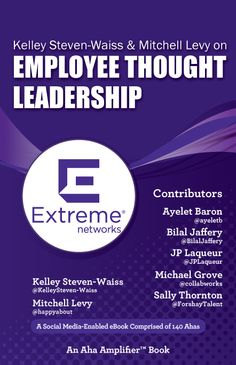 This book is comprised of Aha moments from thought leaders appearing on Thought Leader Life with Mitchell Levy @happyabout and Co-host Kelley Steven-Waiss @ExtremeKelley. In addition to Mitchell and Kelley, Ahas in the book are provided by Ayelet Baron @ayelet, Bilal Jaffery @BilalJaffery, JP Laqueur @JPLaqueur, Michael Grove @collabworks, and Sally Thornton @ForshayTalent.