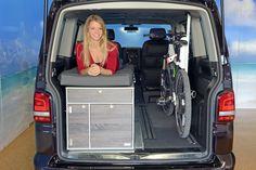 Biker Bed option for VW T5 and T6 Multivan - Single Bed