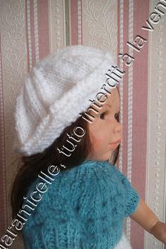 Free tutorial doll female beret