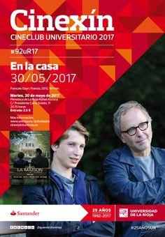 Proyección de la película 'Dans la Maison'. Cinexín universitario