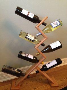 ffad5fcb11 100 Best wine bottle holders images in 2017 | Wine Racks, Wood ideas ...