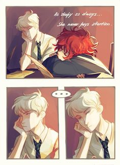 Scorpius and Rose (the next generation of Harry Potter) Part 1 by Viria