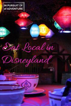 Eat Local in Disneyland