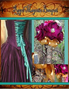 Royal Magnolia Bouquet by whiteriver51 on Etsy