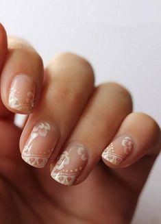 Decoración de uñas para novias 2013 - ModaEllas.