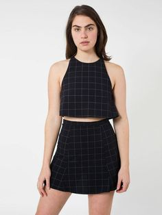 American Apparel Lulu Skirt in Black