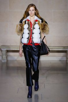 Nicolas Ghesquière shows his fall looks for the label.