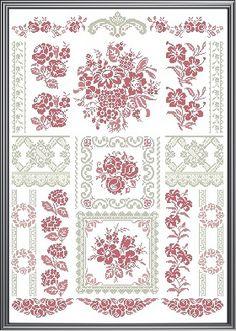 ✿LAVENDER BLUE✿ Design Area: 238 x 387 stitches o puntos Puntos utilizados: Punto cruz y punto lineal   Duración del proyecto:8 meses Comie...