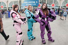 HALO Girls – SDCC 2012 – Hayley Sargent