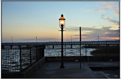 The pier at Battery Park in Historic New Castle Delaware