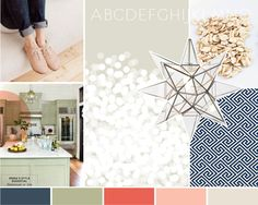 moodboard by Breanna Rose / colours / graphic design / web design