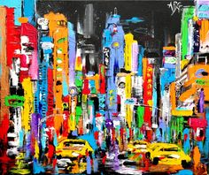 A vibrant look at Times Square - by Anna Gammans