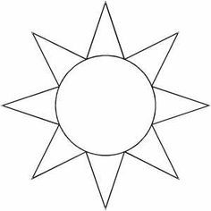 Terrible image regarding sun stencil printable