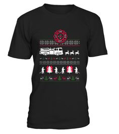 Firefighter Ugly Christmas