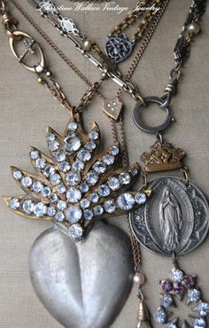 "Christine Wallace... ""Honoring Life Through Jewelry"": Before Crossing The Pond..."