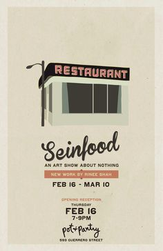 Seinfeld and reductive retro vector art... what's not to love?