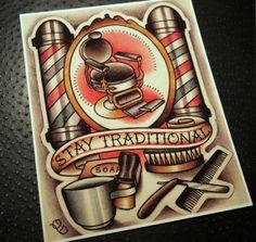 parlor tattoo prints