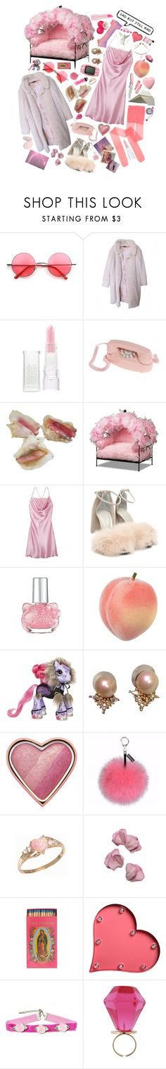 """it isn't all roses and sunshine, darling"" by teanga-airgead ❤ liked on Polyvore featuring Retrò, Nina Ricci, Models Own, GAS Jeans, Handle, Alexander Wang, Hello Kitty, Mizuno, Christian Dior and Too Faced Cosmetics"