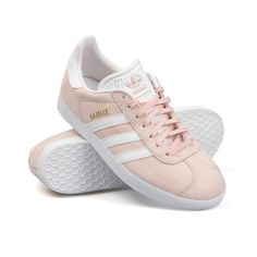 best sneakers 738ec 98740 How pretty are these  pale pink  ADIDAS ORIGINALS GAZELLES ! Now available  at Masdings.com