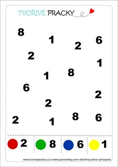 Colorful numbers clip art vector clip art online royalty free pracovn list s sly fandeluxe Image collections