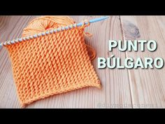 Como tejer el punto búlgaro a dos agujas paso a paso - YouTube Loom Knitting, Knitting Stitches, Baby Knitting, Knitting Patterns, Crochet Bikini, Knit Crochet, Crochet Hats, Crochet Instructions, Diy Clothes