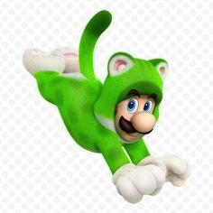 Luigi cat - Super Mario 3D World - #WiiU #Nintendo